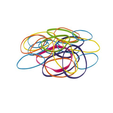 PCI Crepe Colored Rubber Bands